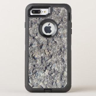 Gray Rough Concrete Texture 060 OtterBox Defender iPhone 7 Plus Case