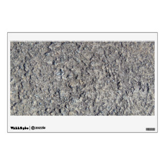Gray Rough Concrete Texture 060 Wall Decal