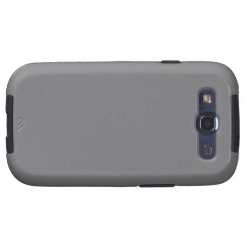 Gray Samsung Galaxy SIII Covers