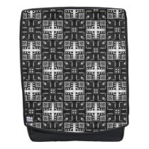 Gray Scale Modern Pattern 235 Backpack