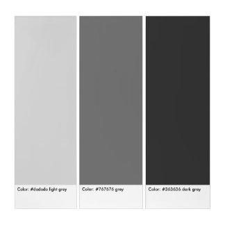 gray scale modern triptych