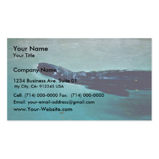 Gray Seal Double-Sided Standard Business Cards (Pack Of 100)