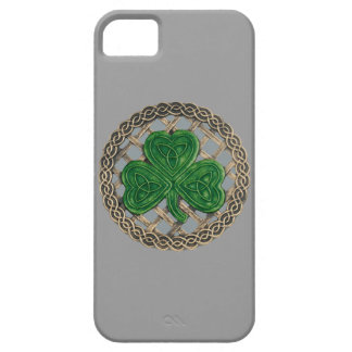 Gray Shamrock And Celtic Knots iPhone 5G Case