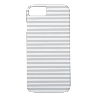 Gray Skinny Stripes iPhone 7 Case
