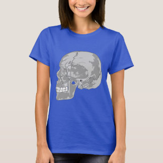 GRAY SKULL DESIGN T-Shirt