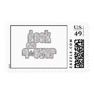 Gray Skull Geek 4ever Stamp