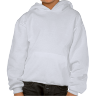 Gray Skull Goth Geek Hooded Sweatshirts