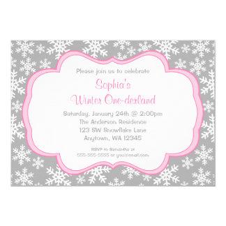 Winter Onederland Invitations & Announcements | Zazzle
