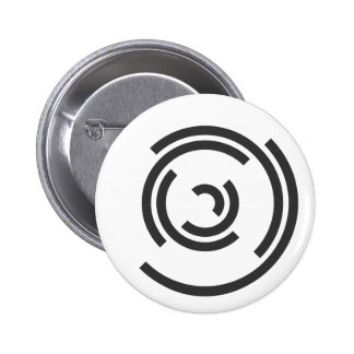 Gray Spiral Button