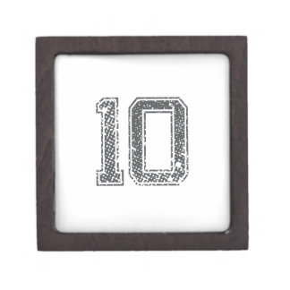 Gray Sports Jersey #10 Premium Gift Boxes