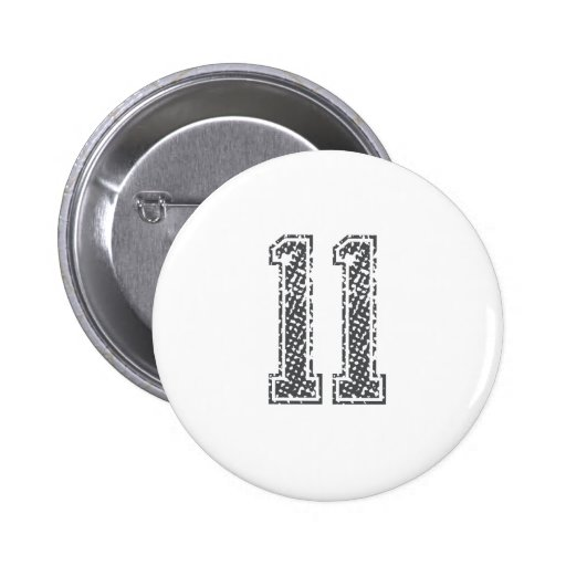 Gray Sports Jersey #11 Button