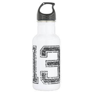 Gray Sports Jersey #13 Water Bottle
