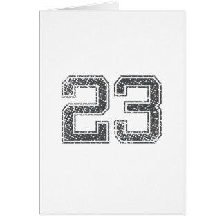 Gray Sports Jersey #23 Card