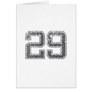 Gray Sports Jersey #29 Card