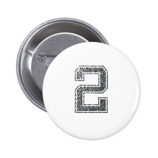 Gray Sports Jersey #2 Pin