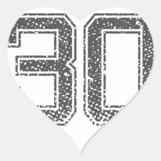 Gray Sports Jersey 30 Sticker