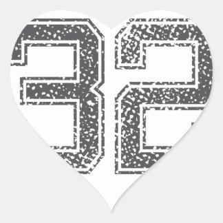 Gray Sports Jersey 32 Stickers