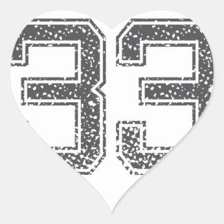 Gray Sports Jersey 33 Stickers