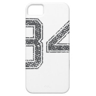 Gray Sports Jersey #34 iPhone 5 Cases