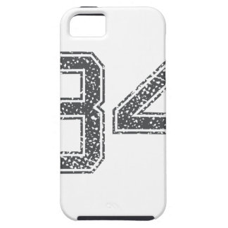 Gray Sports Jersey #34 iPhone 5 Covers