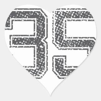 Gray Sports Jersey 35 Stickers