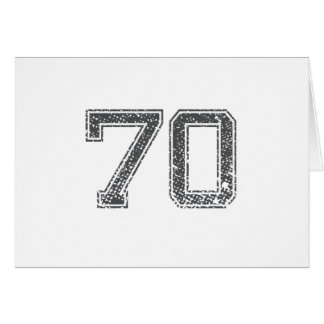 Gray Sports Jersey #70 Card