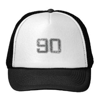 Gray Sports Jersey #90 Trucker Hat