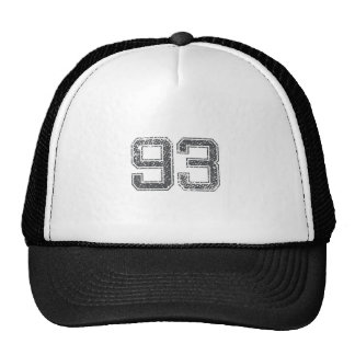 Gray Sports Jersey #93 Trucker Hat