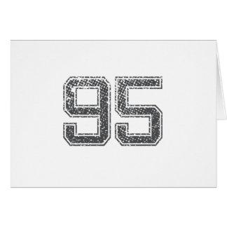 Gray Sports Jersey #95 Card