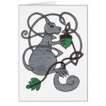 Gray Squirrel card