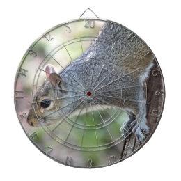 Gray Squirrel Dartboard