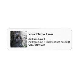 Gray Squirrel Label