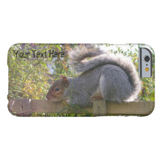 gray squirrel resting original wildlife photo barely there iPhone 6 case