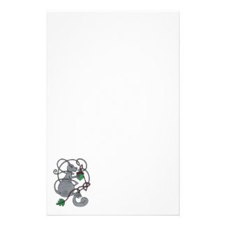 Gray Squirrel stationery