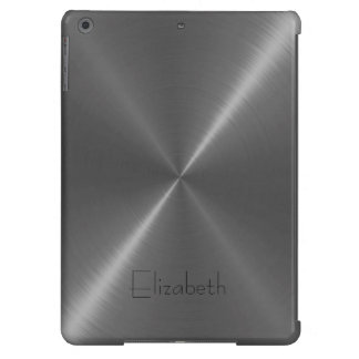 Gray Stainless Steel Metal Cover For iPad Air