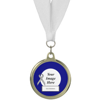 Gray Standard Ribbon Template by Kenneth Yoncich Medal