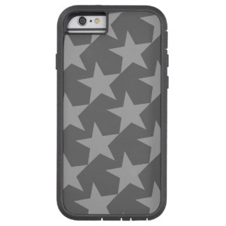 GRAY STARS (GEOMETRIC PATTERN) iPhone 6 Case