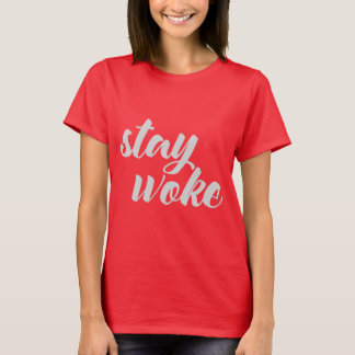 Gray Stay Woke T-Shirt