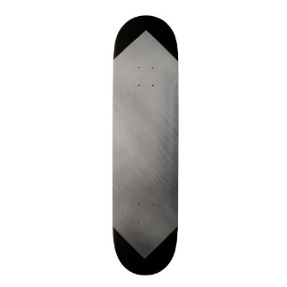 Gray Steel Speed Look Customizable 3 Skateboard