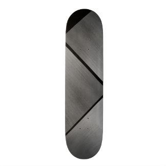 Gray Steel Speed Look White Customizable 0 Skateboard