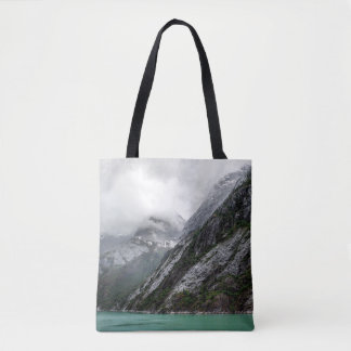 Gray Stone Mountain Tote Bag