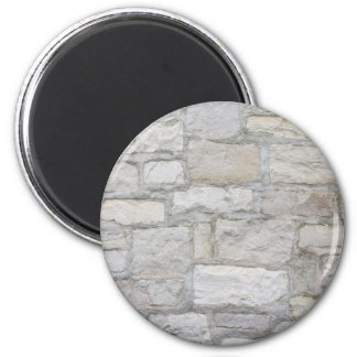 Gray Stone Wall Magnet