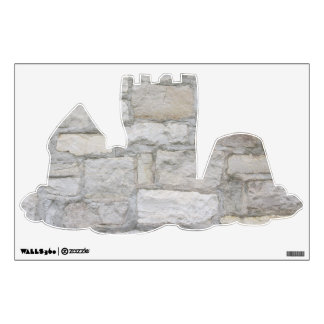 Gray Stone Wall Room Decals