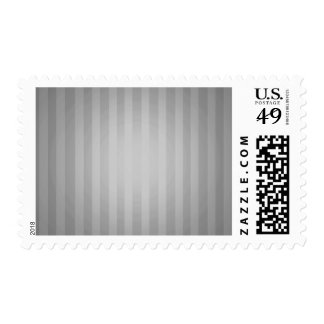 Gray Striped Background Postage Stamps