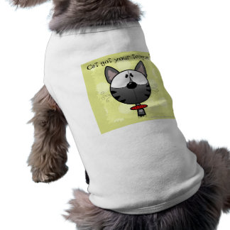 Gray Striped Kitty T-Shirt