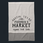 """Gray Stripes Custom Farmer&#39;s Market 