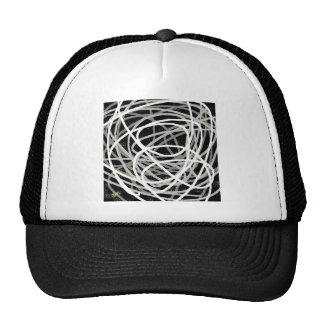 gray stuff trucker hat
