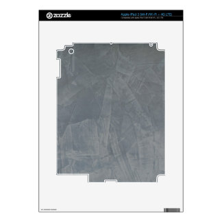 Gray Suede Decals For iPad 3