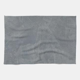 Gray Suede Hand Towel