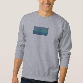 Gray sweatshirt with gray abstract design